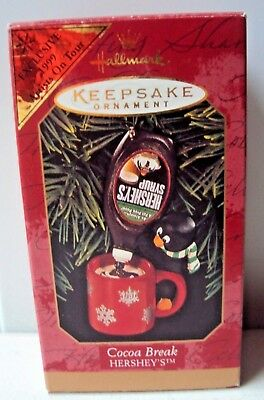 1999 Hallmark Keepsake Cocoa Break - Hershey's - NOS