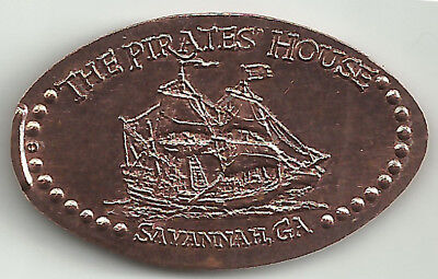 The Pirates House Elongated Penny