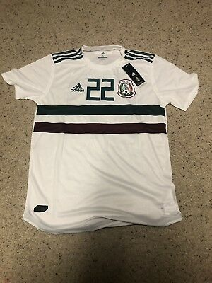 sports shoes 4d02d 09409 ADIDAS HIRVING LOZANO MEXICO AWAY JERSEY WORLD CUP 2018 Large