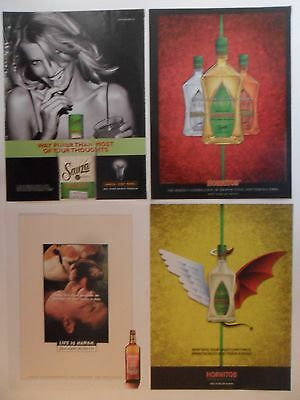 Nice Lot of 20 Different Sauza & Hornitos Tequila Magazine Print Ads