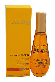 Aroma Nutrition Satin Softening Dry Oil Decleor 3.3 oz Oil Unisex