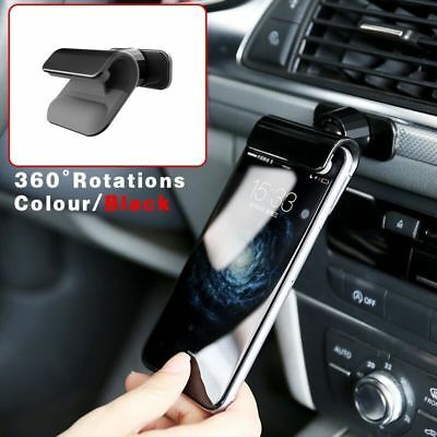 Interior Gravity Car Phone Holder 4–7'' Mounts Stand For iPhone Samsung  Black