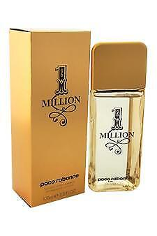 1 Million Paco Rabanne 3.3 oz After Shave Lotion Men An invigorating tonic treat
