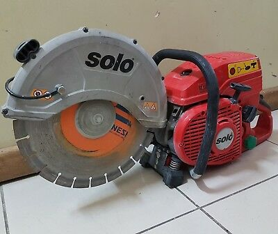 SOLO TYP 08 Concrete Cut Off Demolition Saw | MADE IN GERMANY