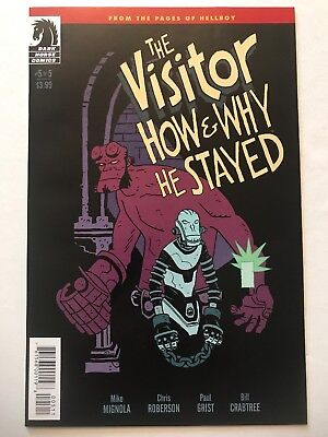 THE VISITOR: HOW & WHY HE STAYED #5, Dark Horse (2017) 1st Ptg NM