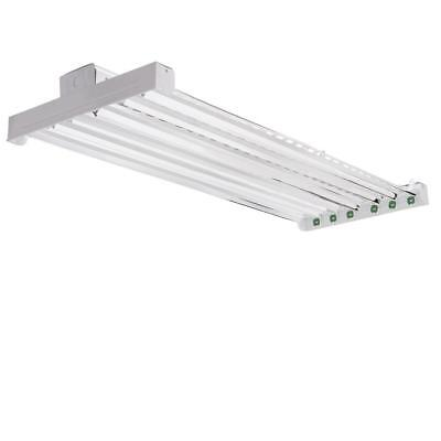 Lithonia Lighting High Bay Industrial 6-Light Grey Hanging Fluorescent Fixture