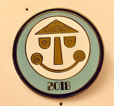 AUTHENTIC Parks Icons Dated 2018 Booster it's a Small World Disney Pin 127301