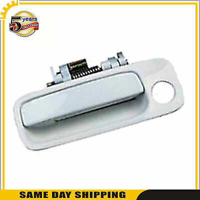 Outside Door Handle For 97-99-01 Toyota Camry 051 Diamond White Pearl Rear Right