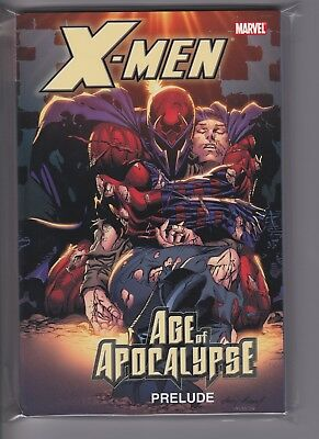 X-Men:The Age of Apocalypse Prelude  TPB  Marvel $30 Cover