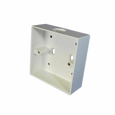 1 Gang Surface Mounted Socket Box With Knockout (85 x 85 x 32mm)