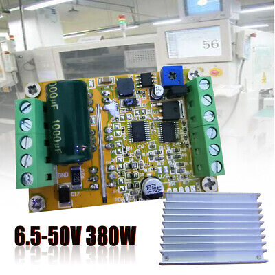 DC 6-50V 3 Phases Brushless Motor Controller (No Hall) BLDC PWM Driver Board NEW