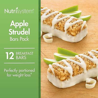 Nutrisystem® Apple Strudel Weight Loss Bars Pack, 12 Count Bars