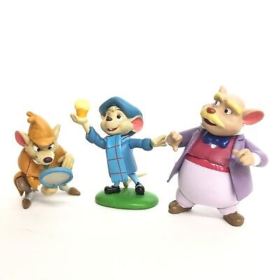 Choco Party Disney Mini Figure The Great Mouse Detective 3P Tomy Japan