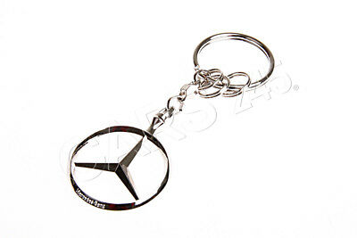 2Genuine MERCEDES BENZ BRUSSELS KEY RING B66957516