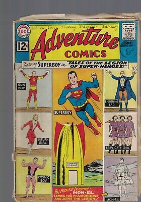 DC Comics Adventure Comics No 300 Sept 1962  12c USA