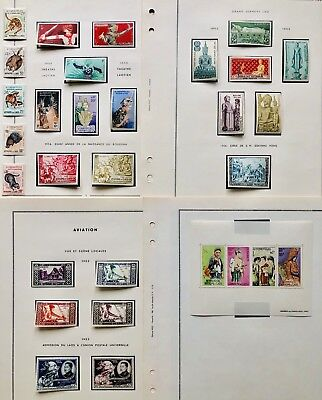 Laos Lao Indochina MH Collection 36 Pages France Very Fine