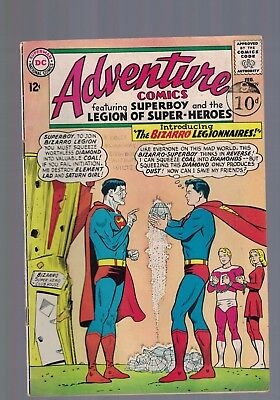 DC Comics Adventure Comics No 329 1965  12c USA