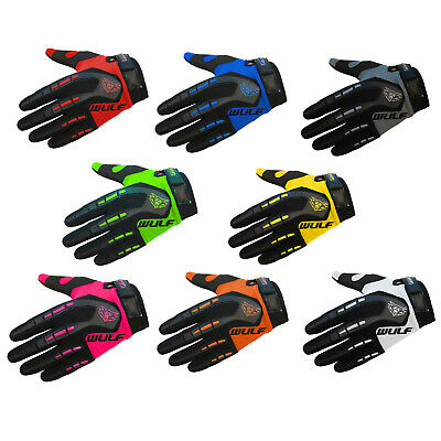Wulfsport Attack Adult Gloves Trials Off Road Motocross MX Quad Bike Pitbike