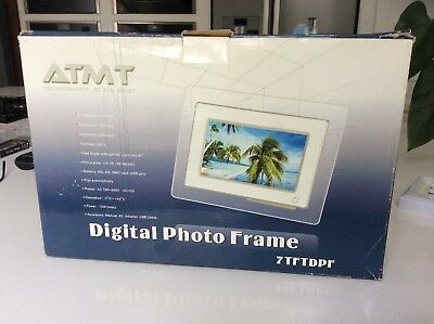 ATMT 7in H Digital Photo Frame BNIB