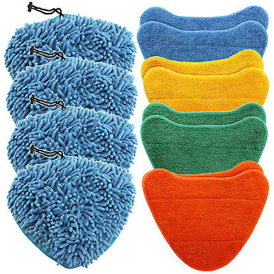 Cover Pads for VAX Steam Cleaner Mop S86-SF-B S86-SF-C S86-SF-P S86-SF-T x 12