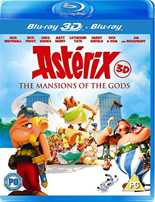 Asterix & Obelix: Mansion Of The Gods 3D Blu-Ray NUEVO