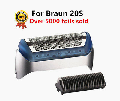 Quality 20S Shaver Foil Frame+Cutter For Braun 20S 2000/1000 Series CruZer1234