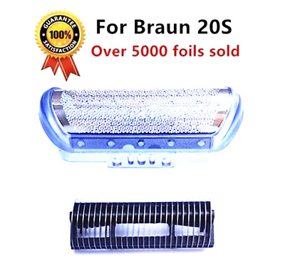 Quality Shaver Foil+Cutter Compatible with Braun 2000/1000 Series CruZer1/2/3/4
