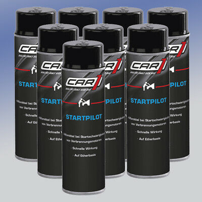 CAR1® Startpilot Starthilfe CO 3605 8 x 250 ml