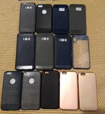 Wholesale Bulk Job Lot Apple iPhone and Samsung Cases  6 7 S8 190 Cases Covers