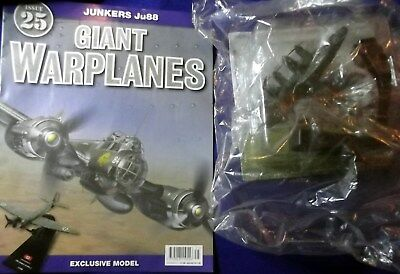 Giant Warplanes Issue 25 - Junkers Ju88 & Magazine - N.O.S - Out Of Bag
