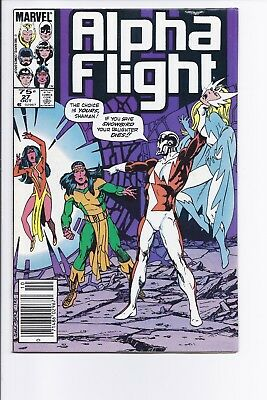 High Grade Canadian Newsstand Variant Edition $0.75 Price Alpha Flight #27