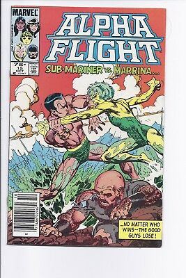 High Grade Canadian Newsstand Variant Edition $0.75 Price Alpha Flight #15