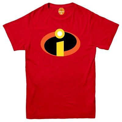 The Incredibles Superhero T Shirt Disney Pixar Funny Joke Birthday Gift Men Top