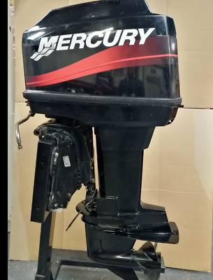 MERCURY 60HP ELECTRIC Start Remote Control Long Shaft Power Trim Outboard