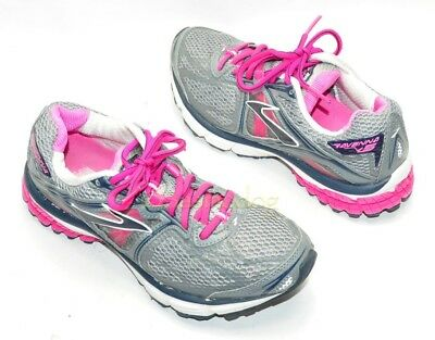 7516cd923a5 WOMENS BROOKS RAVENNA 5 Running Shoes Size 8 US Gray Excellent Cond ...