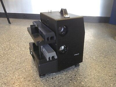 Royale 35mm Fading / Disolving Dual Tray Slide Projector - Twin Lenses