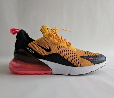 "Nike Air Max 270 University Gold ""Tiger"" sz 9, 9/10 condition"