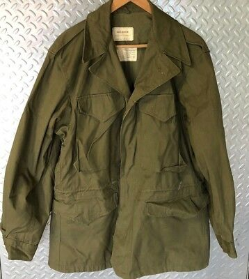 30251 Vintage NOS US ARMY Issued M1950 FIELD JACKET COAT~ Never Worn / Small