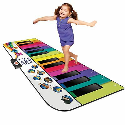 Floor Piano Mat: Jumbo 6 Foot Musical Keyboard Playmat for Toddlers and Kids …