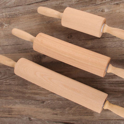 1pc Small wooden dough rolling pin cake bake decorating Kitchen Tools