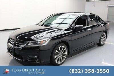 2015 Honda Accord Sport Texas Direct Auto 2015 Sport Used 2.4L I4 16V Manual FWD Sedan