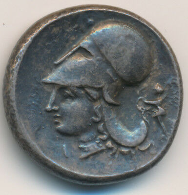 ANCIENT GREECE CORINTH 400-300 BC 8.4g AR STATER