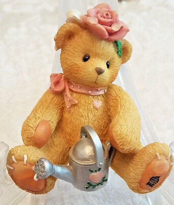 """Cherished Teddies: Rose - """"Everything's Coming Up Roses"""" (202886)  MINT Cond."""