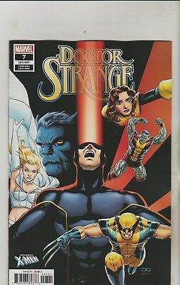 Marvel Comics Doctor Strange #7 January 2019 X-Men Variant 1St Print Nm