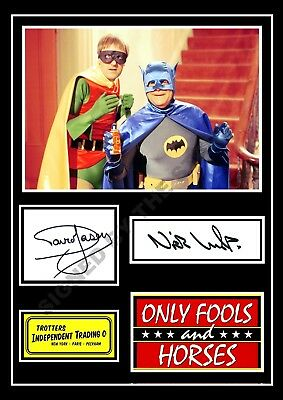 Only Fools And Horses Signed / Autographed Print David Jason Nicholas Lyndhurst