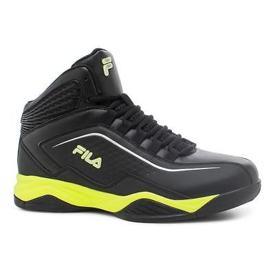 FILA ENTRAPMENT MENS BlackSafety YellowSilver 1SB10297 007
