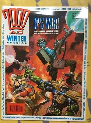 2000AD Winter Special issue 2 1989: Judge Dredd, Rogue Trooper, Tyranny Rex