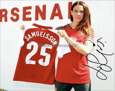 Jessica Samuelsson Autograph *Arsenal Ladies* Hand Signed 10X8 Photo