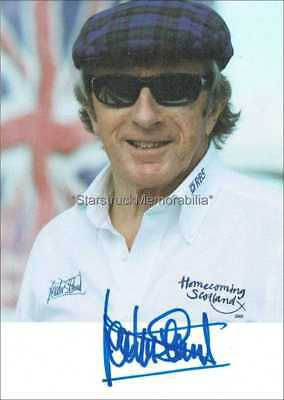 Jackie Stewart Autograph *Formula One Champion* Hand Signed 6X4 Photocard
