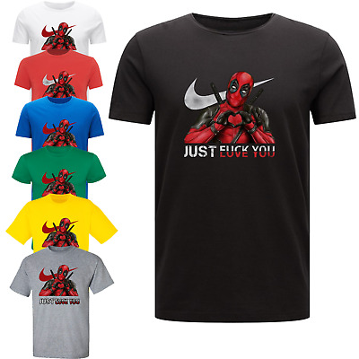 Deadpool Love You T-Shirt Unisex Men's Comedy T-Shirt Marvel Insipired Funny